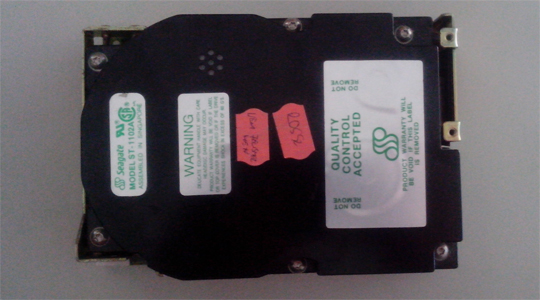 90 MB Seagate ST 1102A HDD